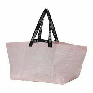 Ikea RARE Baby Pink Frakta/ Slukis Tote